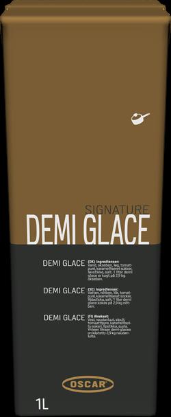 Demi Glace Ox, Signature