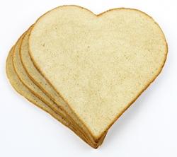 Smörgåstårtbotten Hjärtformad 27cm