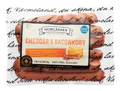 Cheddar & Baconkorv