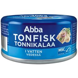 MSC Tonfisk i vatten